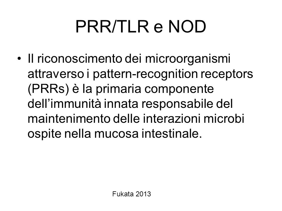 PRR/TLR e NOD