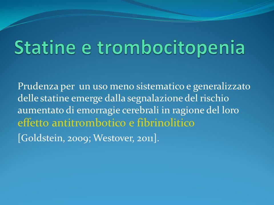 Statine e trombocitopenia