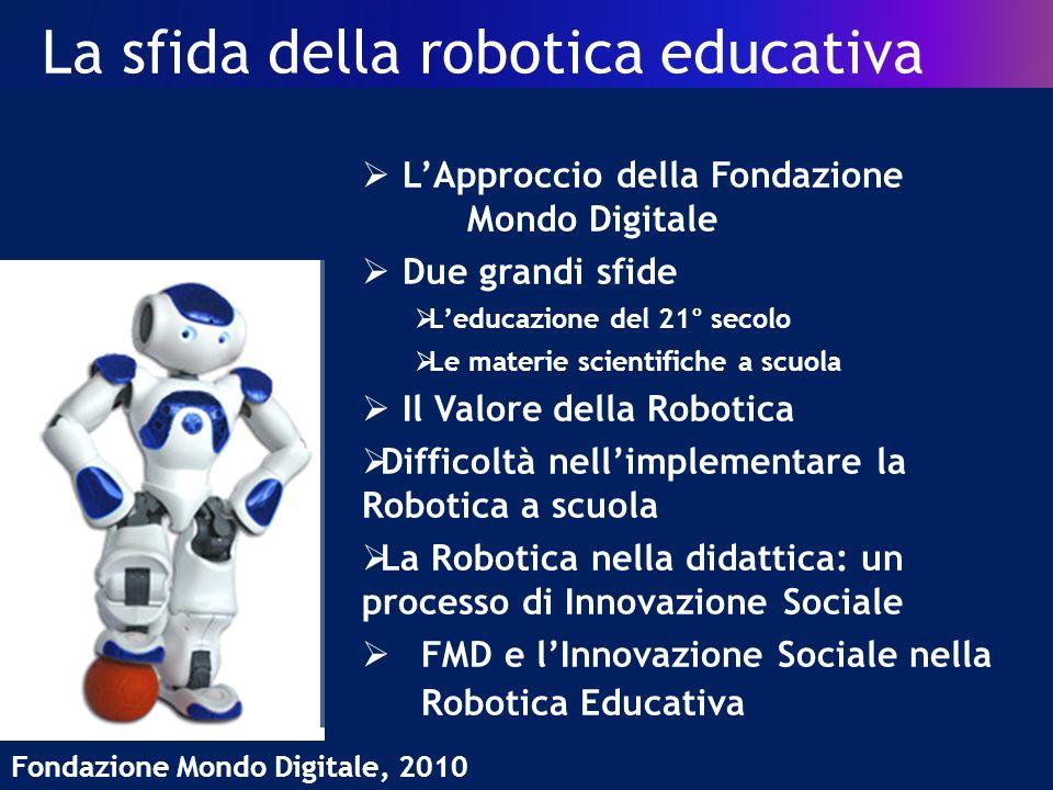 La sfida della robotica educativa