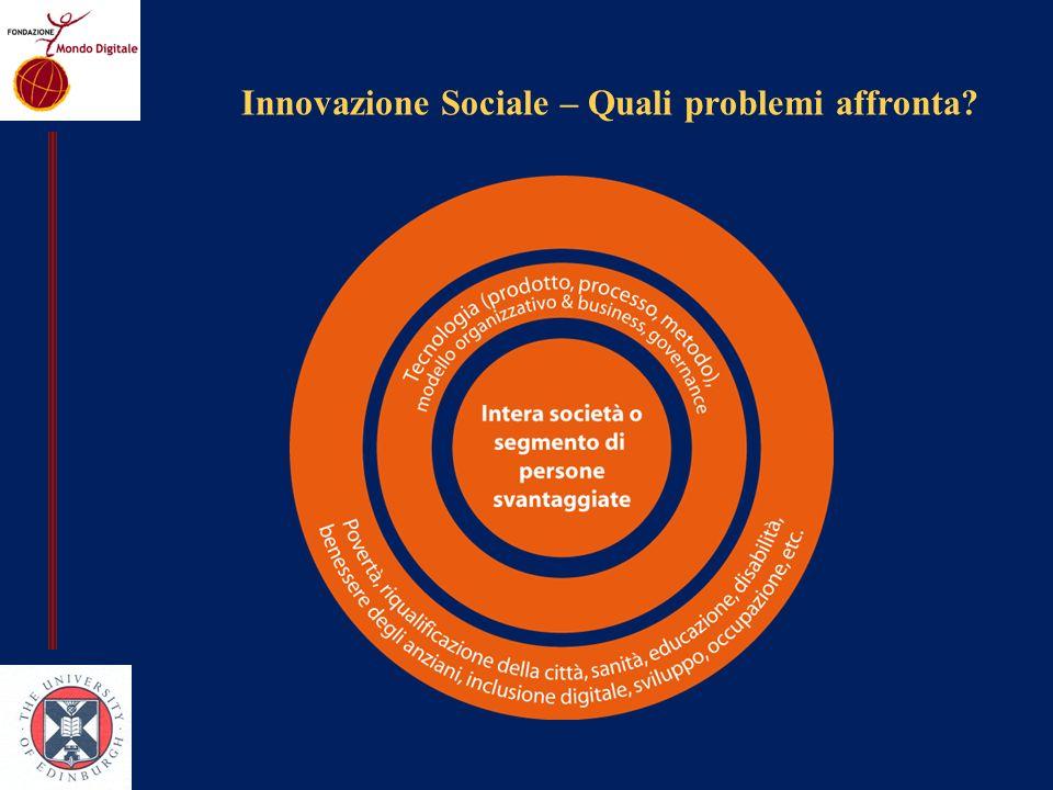 Innovazione Sociale – Quali problemi affronta
