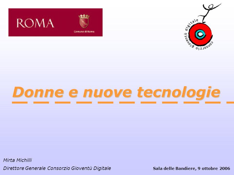 Donne e nuove tecnologie