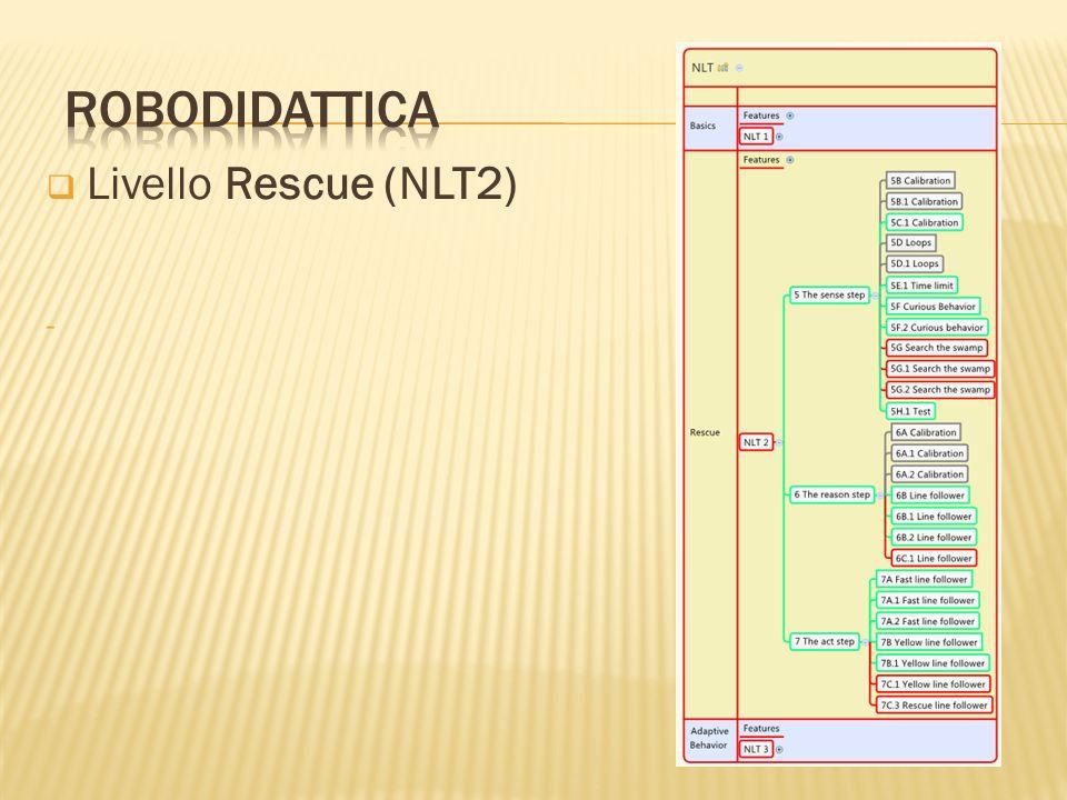 robodidattica Livello Rescue (NLT2)