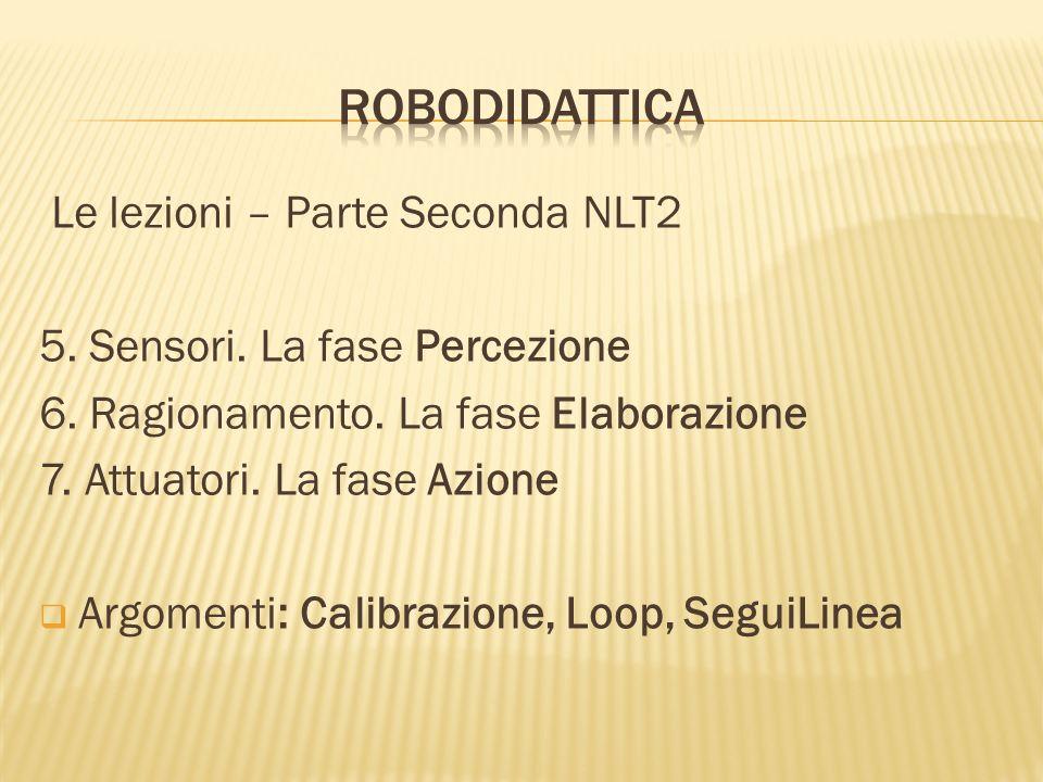 RoboDidattica Le lezioni – Parte Seconda NLT2