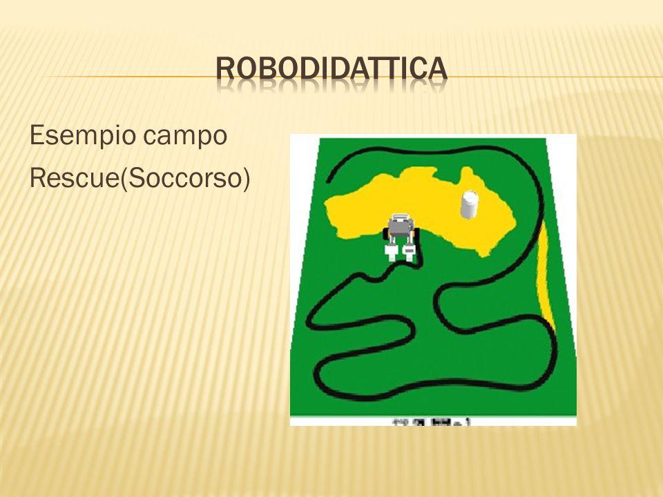 RoboDIDATTICA Esempio campo Rescue(Soccorso)
