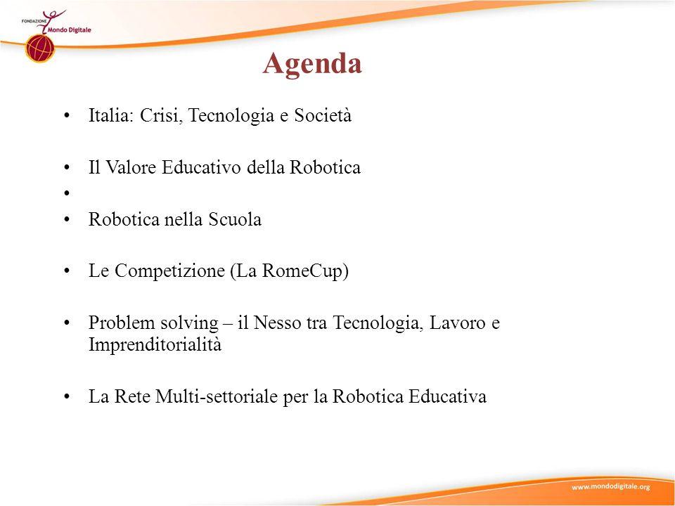 Agenda Italia: Crisi, Tecnologia e Società
