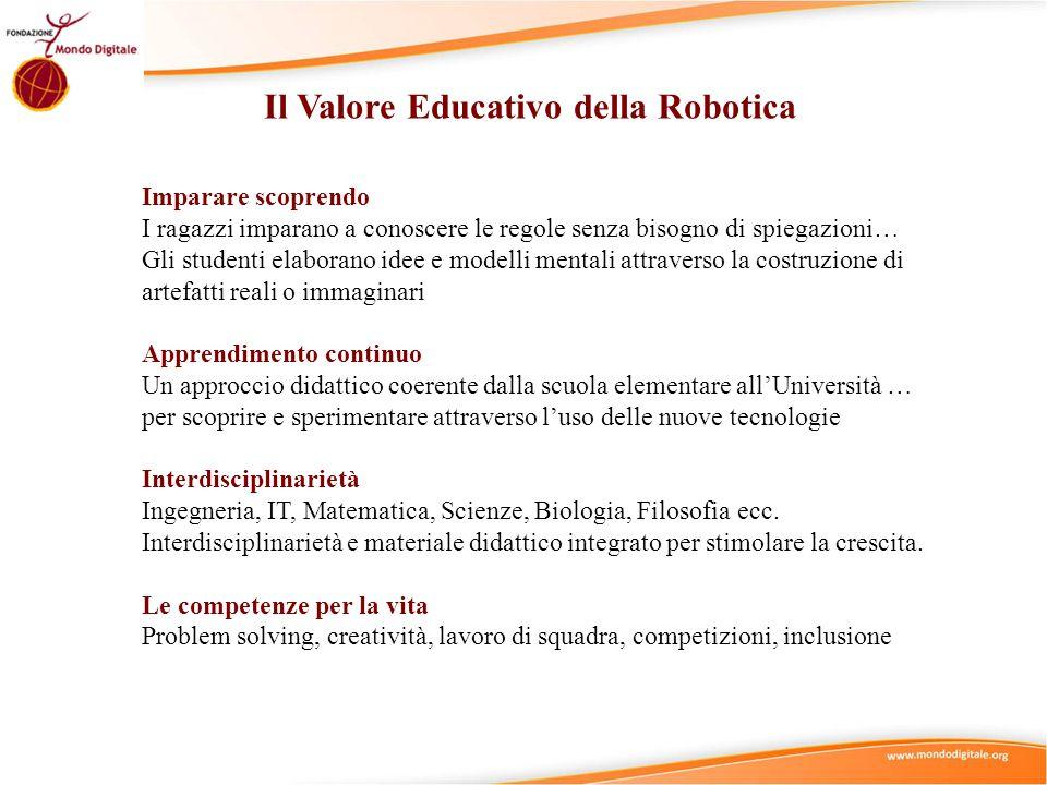 Il Valore Educativo della Robotica