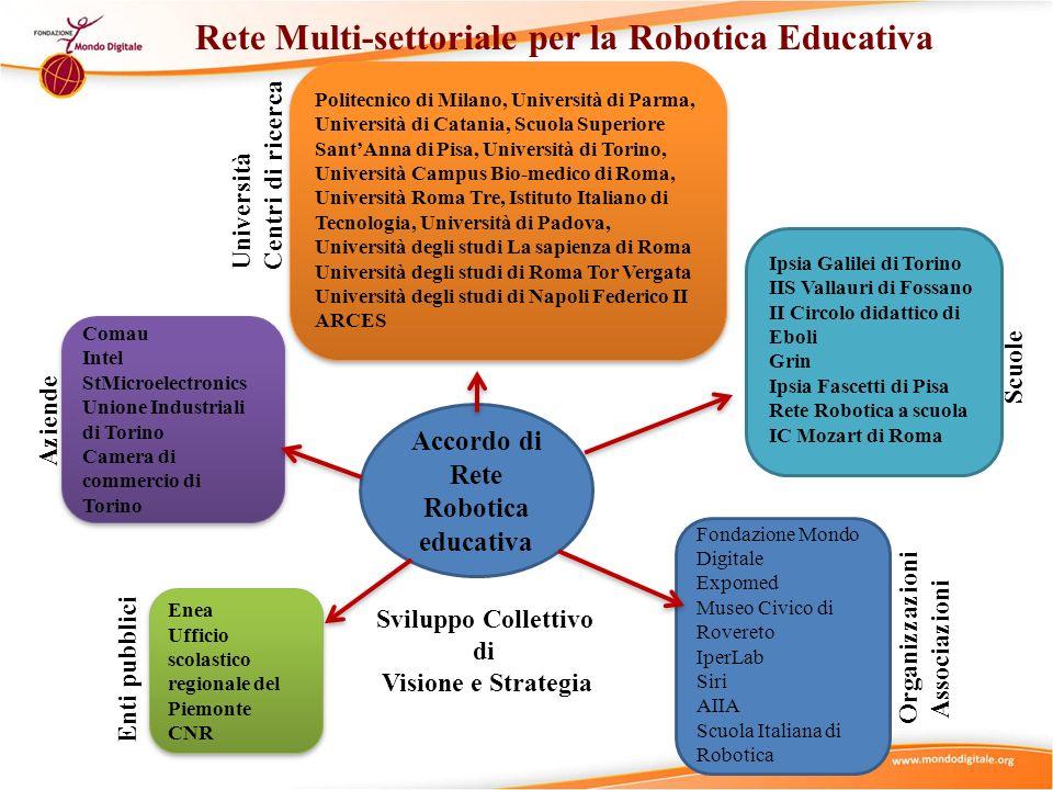 Accordo di Rete Robotica educativa