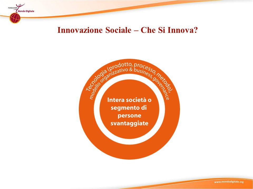 Innovazione Sociale – Che Si Innova
