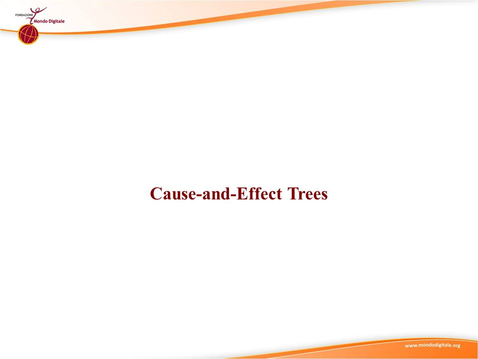 Cause-and-Effect Trees
