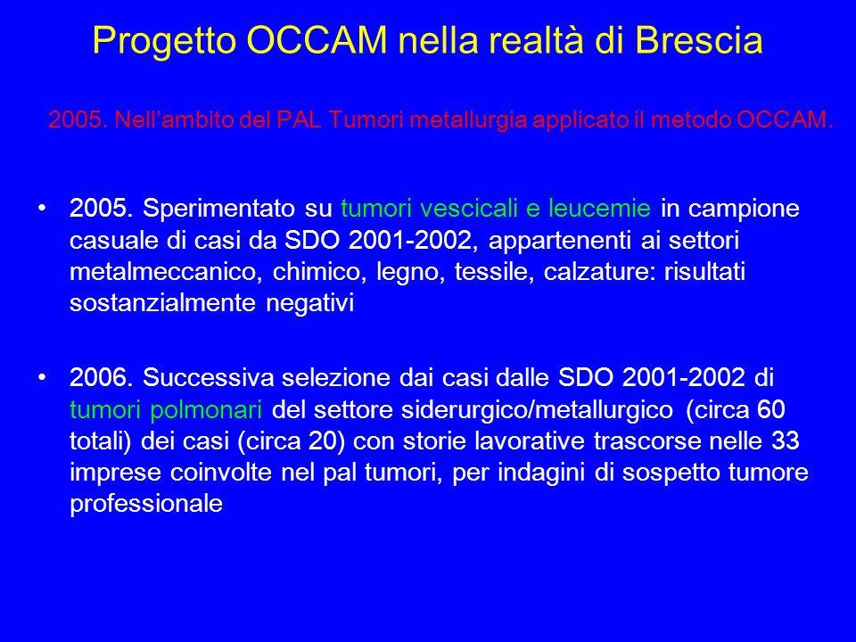 Progetto OCCAM nella realtà di Brescia