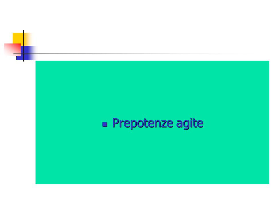 Prepotenze agite