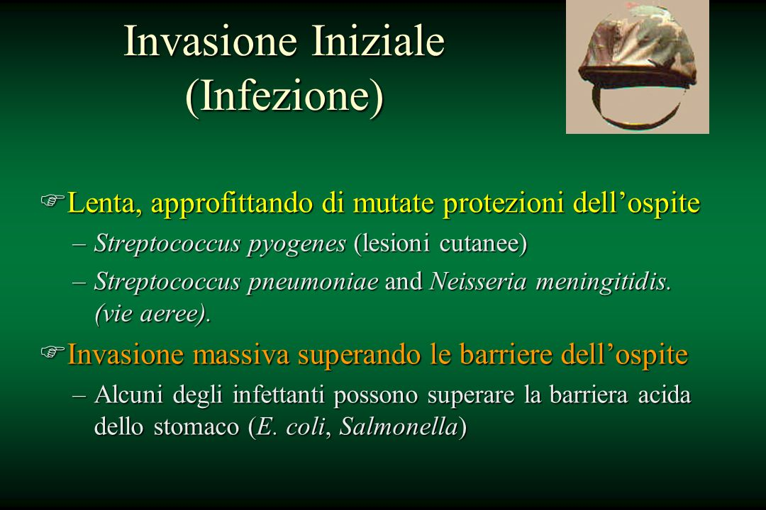 Invasione Iniziale (Infezione)