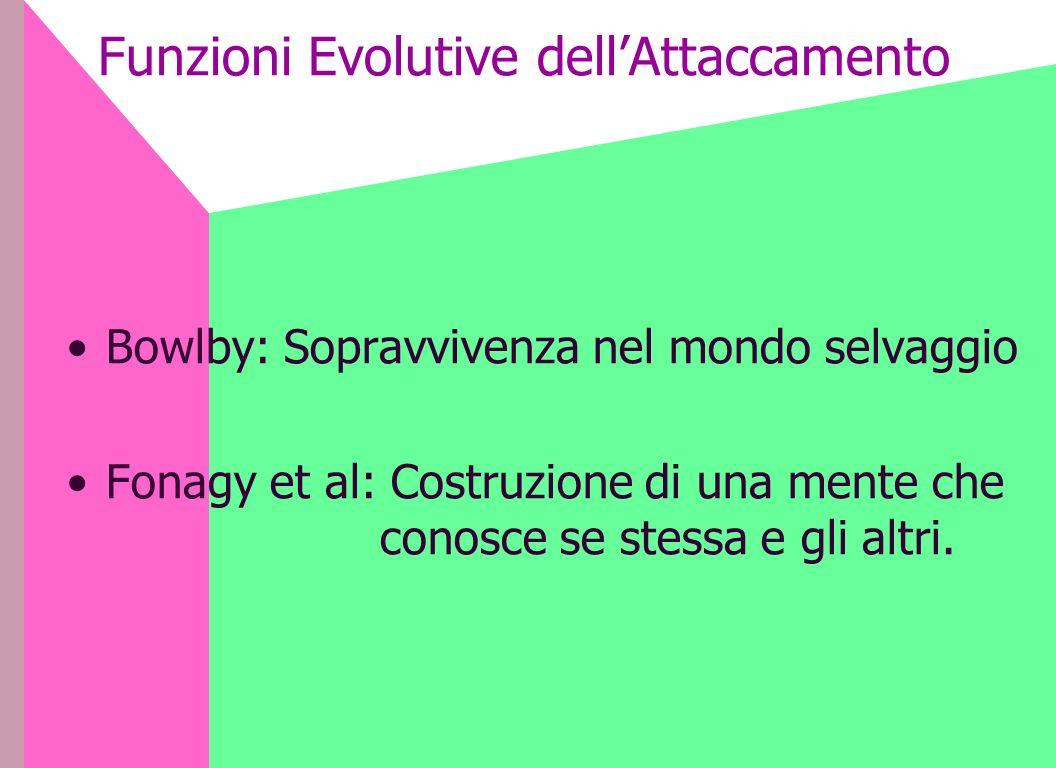 Funzioni Evolutive dell'Attaccamento