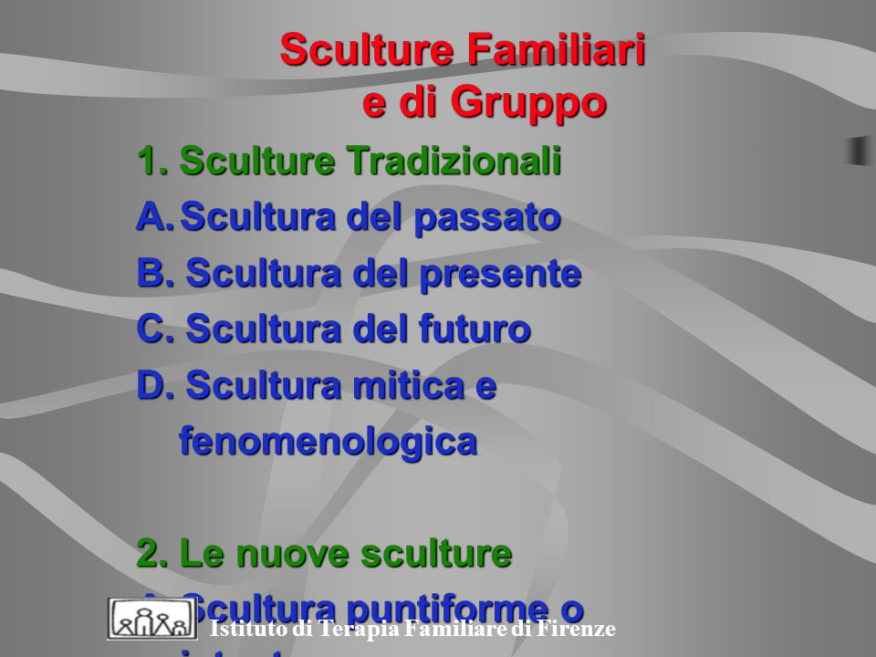 Sculture Familiari e di Gruppo
