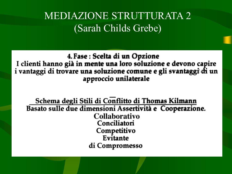 MEDIAZIONE STRUTTURATA 2