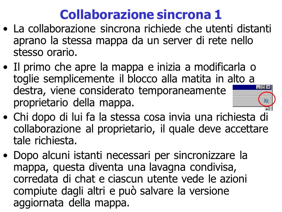 Collaborazione sincrona 1