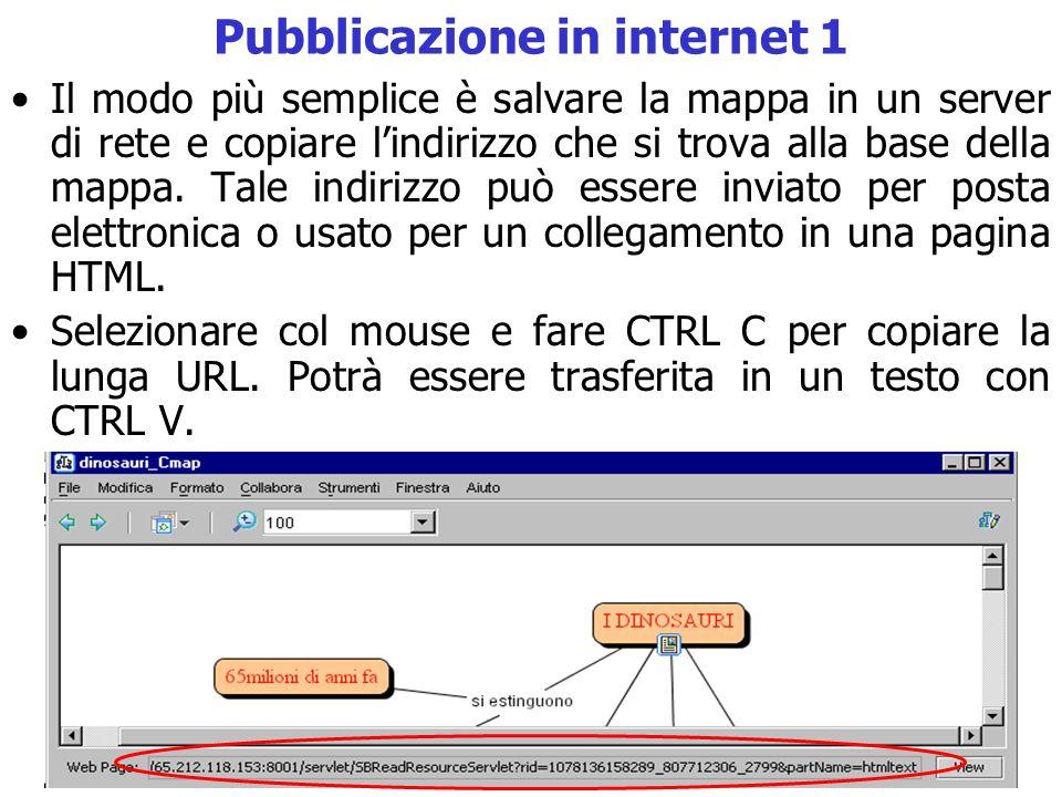 Pubblicazione in internet 1