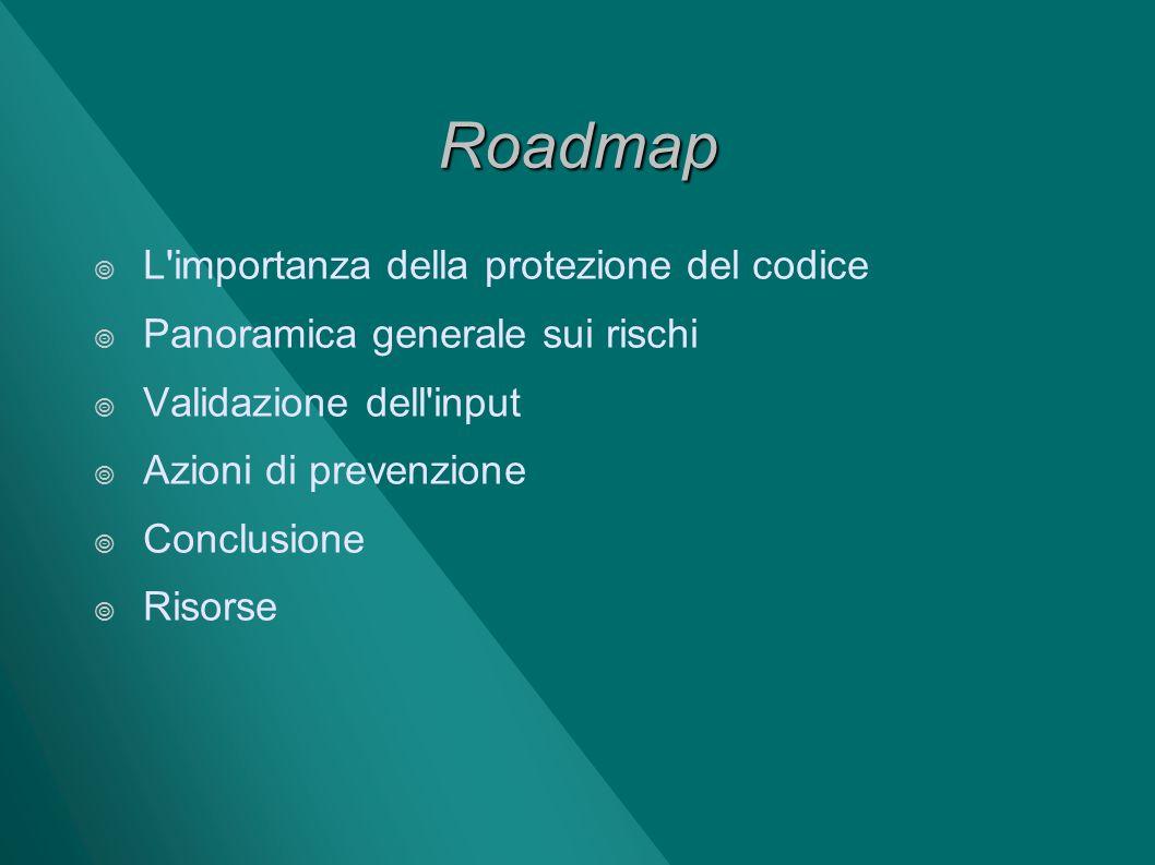 Roadmap L importanza della protezione del codice