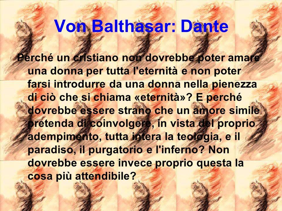 Von Balthasar: Dante