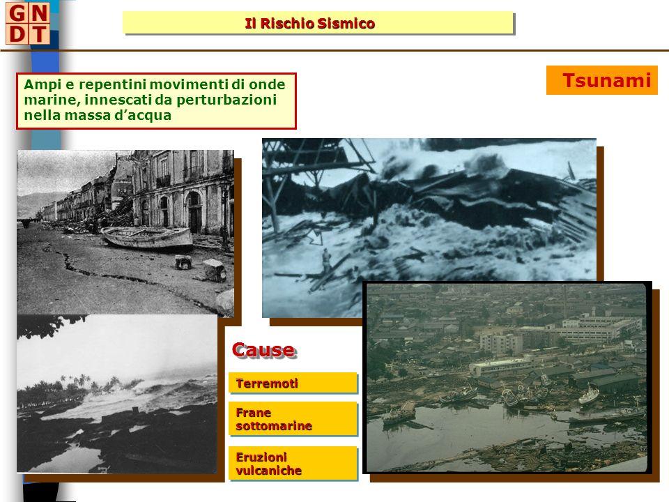 Tsunami Cause Il Rischio Sismico