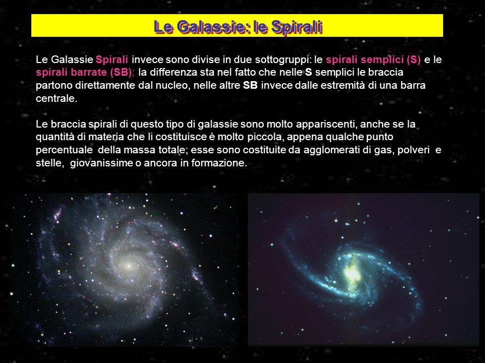 Le Galassie: le Spirali