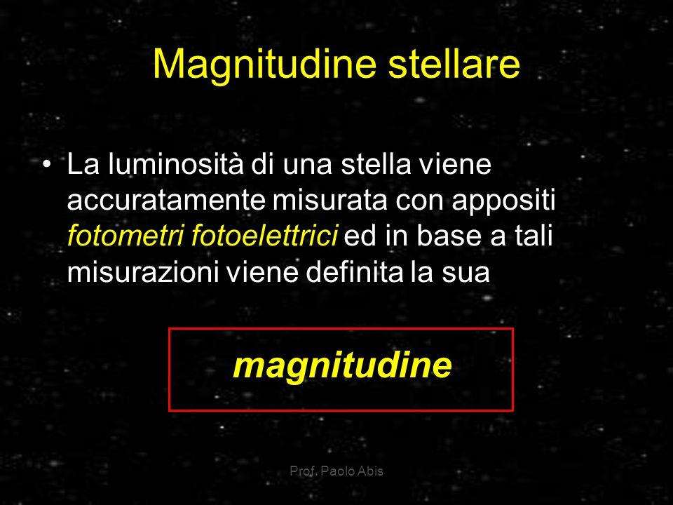 Magnitudine stellare magnitudine