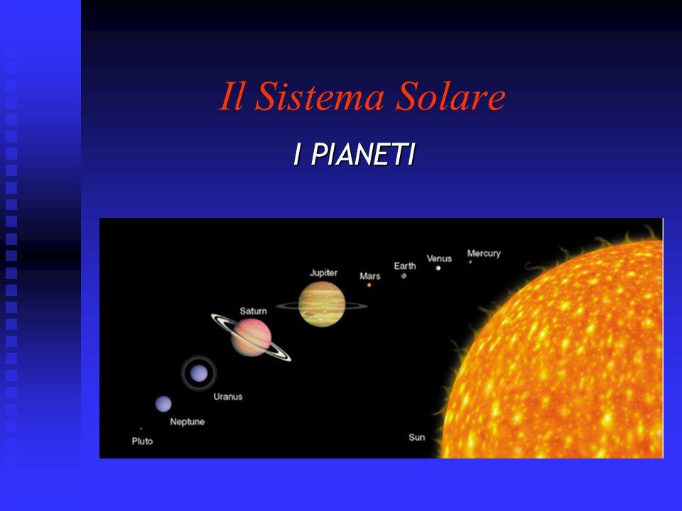 Il Sistema Solare I PIANETI