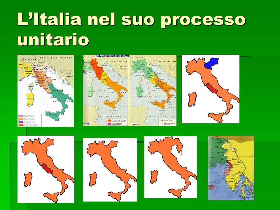 L'Italia nel suo processo unitario
