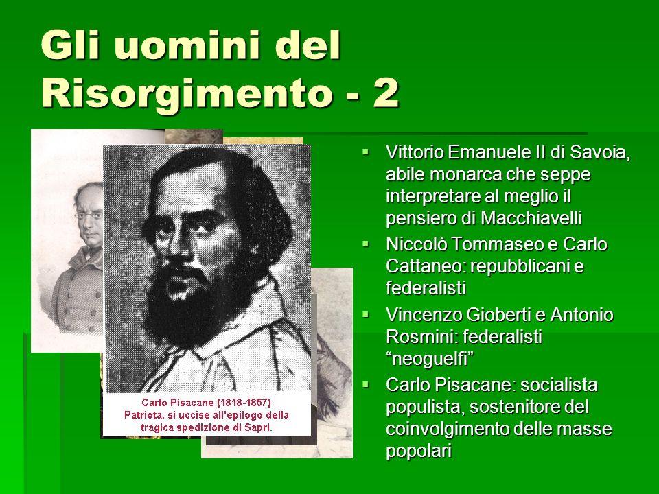 Gli uomini del Risorgimento - 2