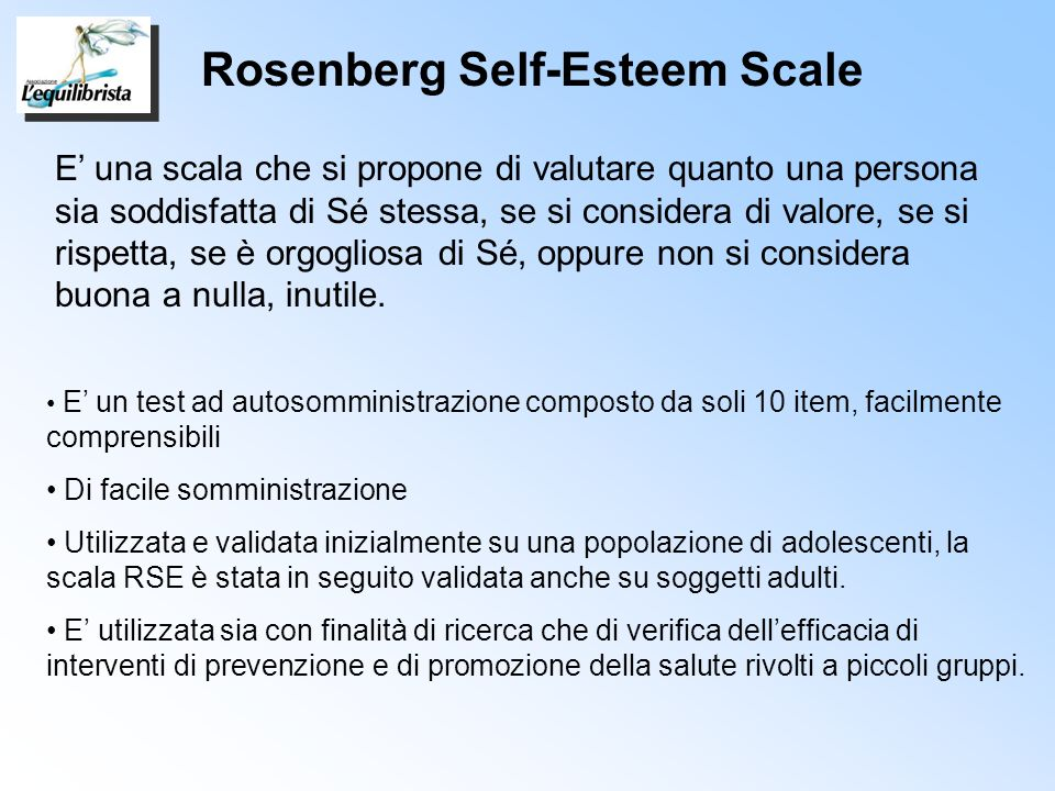 Rosenberg Self-Esteem Scale