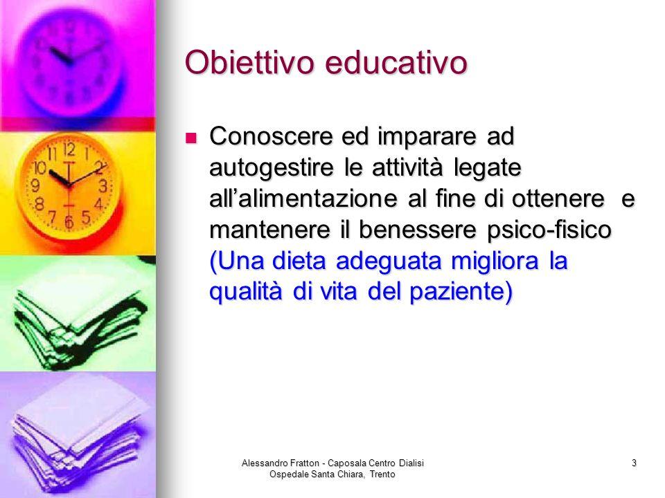 Obiettivo educativo