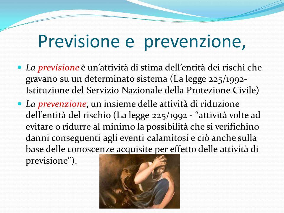 Previsione e prevenzione,