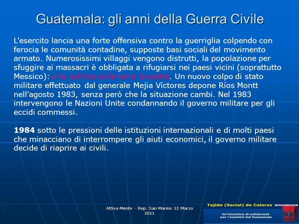 Guatemala: gli anni della Guerra Civile