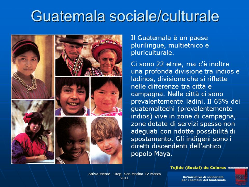 Guatemala sociale/culturale