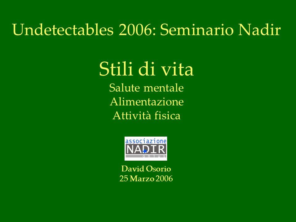 Undetectables 2006: Seminario Nadir