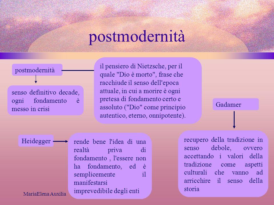 postmodernità