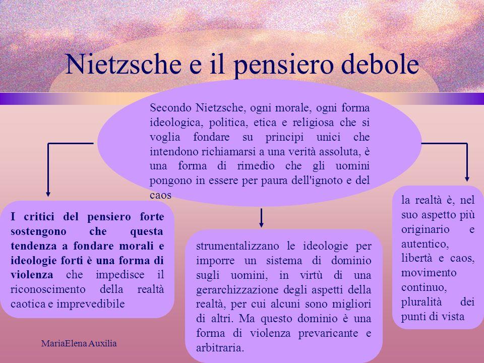 Nietzsche e il pensiero debole