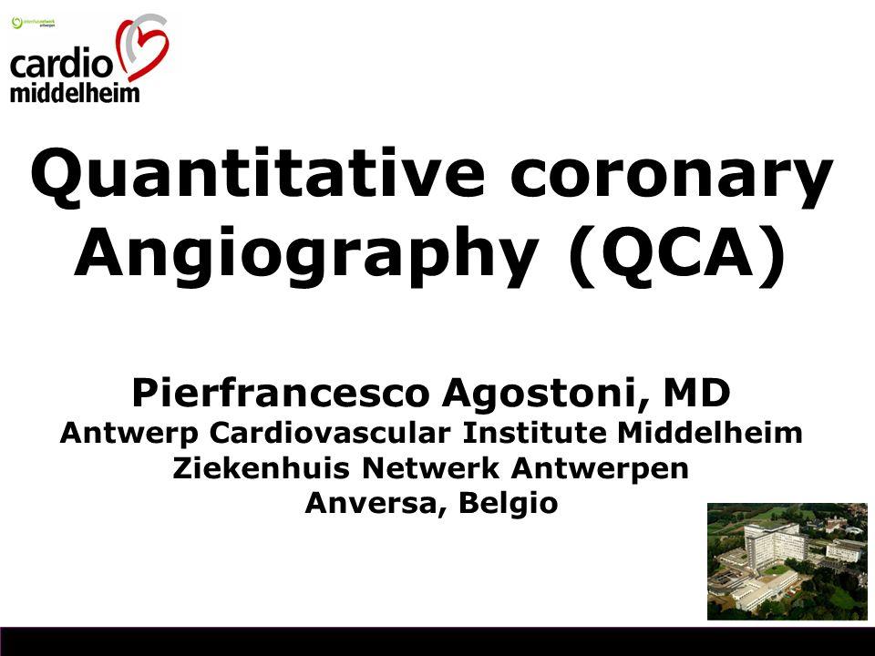Quantitative coronary