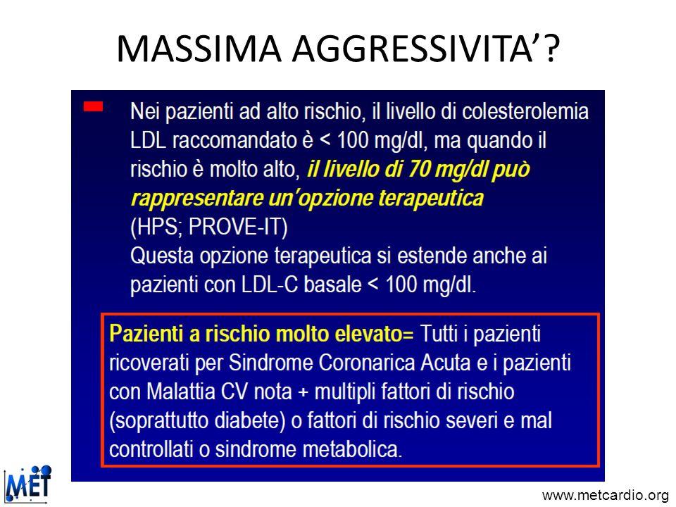 MASSIMA AGGRESSIVITA'