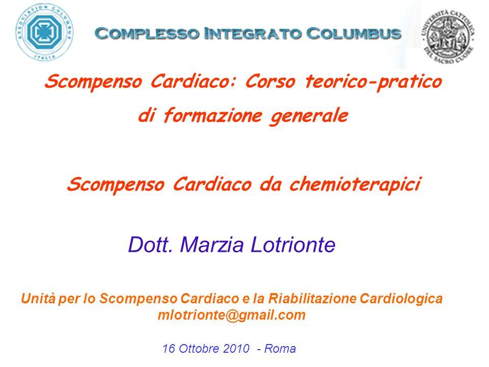 Unità per lo Scompenso Cardiaco e la Riabilitazione Cardiologica