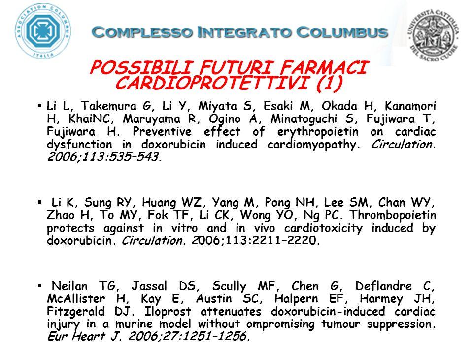 POSSIBILI FUTURI FARMACI CARDIOPROTETTIVI (1)