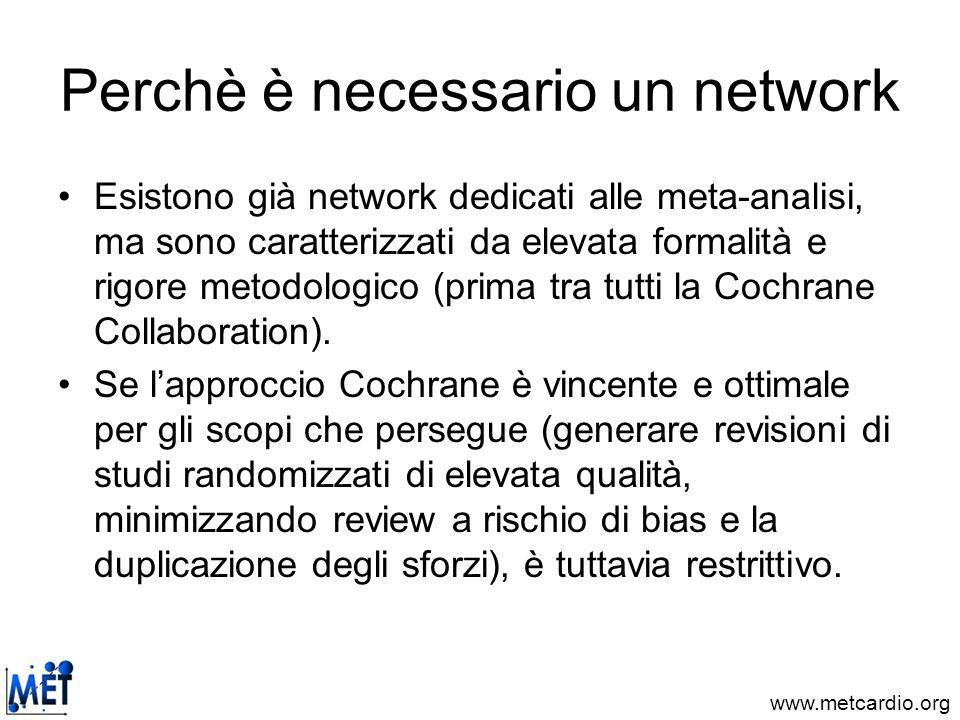 Perchè è necessario un network
