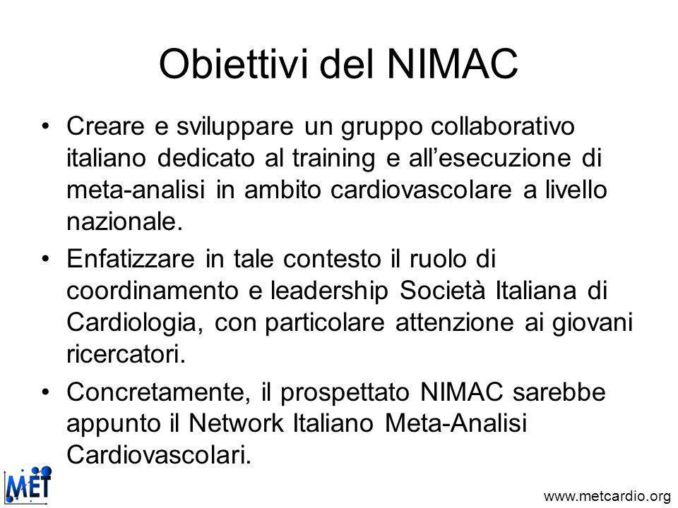 Obiettivi del NIMAC