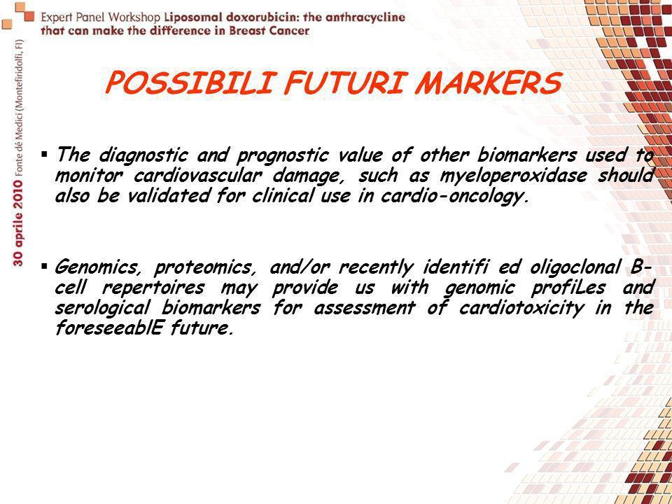 POSSIBILI FUTURI MARKERS