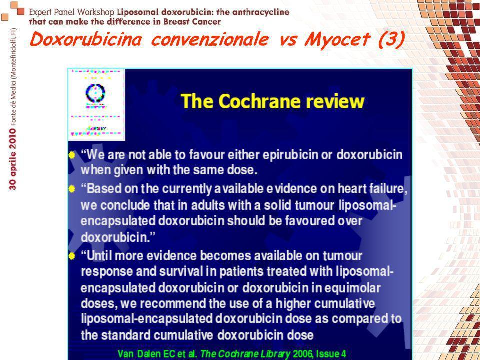 Doxorubicina convenzionale vs Myocet (3)