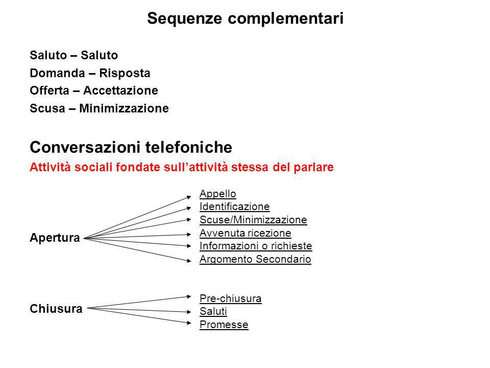 Sequenze complementari