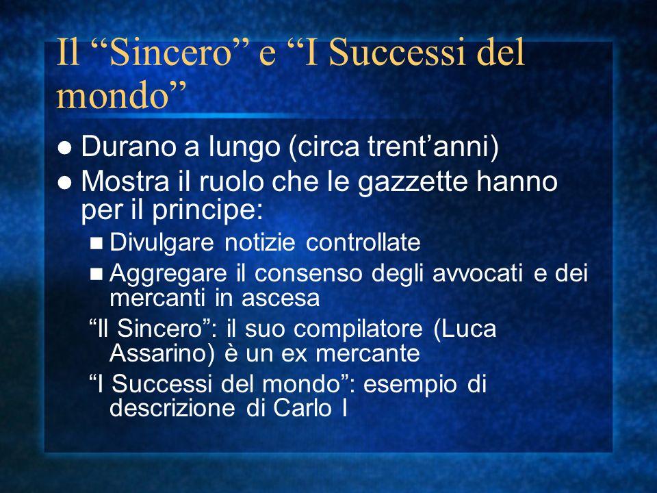 Il Sincero e I Successi del mondo