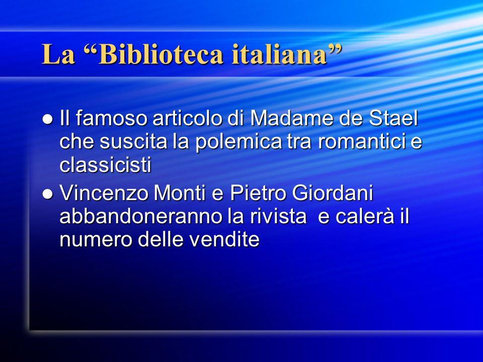La Biblioteca italiana