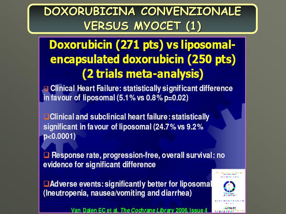 DOXORUBICINA CONVENZIONALE VERSUS MYOCET (1)