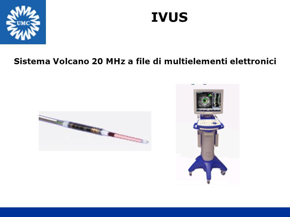 Sistema Volcano 20 MHz a file di multielementi elettronici